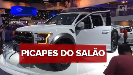 Salão do Automóvel de São Paulo 2016: guia de picapes