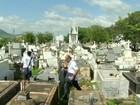 Cemitérios de Três Rios, RJ, recebem ações de combate ao Aedes aegypti
