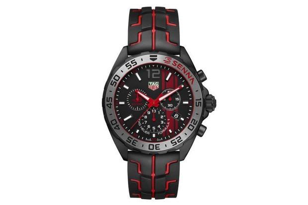 526ded97e5c TAG Heuer lança coleção de relógios em homenagem a Ayrton Senna ...