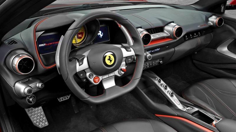 Ferrari 812 Superfast (Foto: Divulgação)