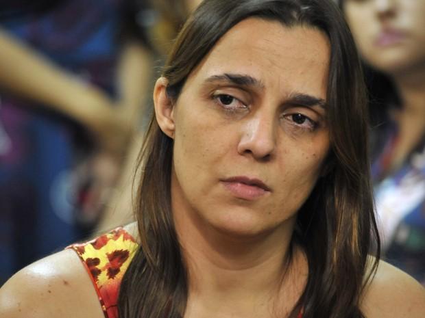 Mãe acusada de matar bebê e guardar corpo por 5 anos, Márcia Zacarelli vai a júri, decide juiz em Goiás (Foto: Aline Caê/TJ-GO)