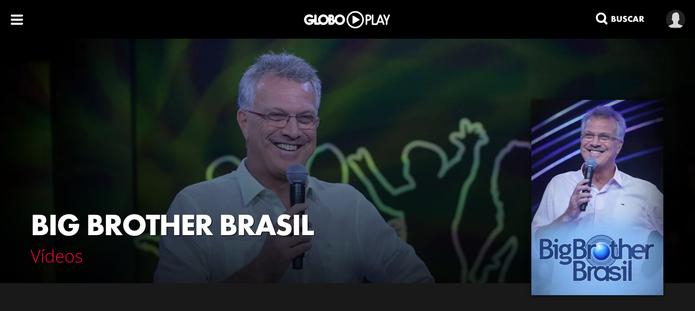 Veja BBB direto pelo PC com o Globo Play (Foto: Reprodução/Lucas Mendes)