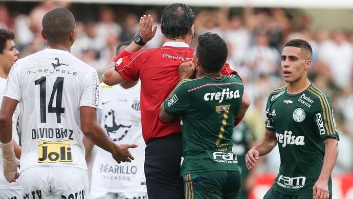 Guilherme Ceretta de Lima e Dudu, do Palmeiras - Final do Campeonato Paulista 2015 (Foto:  Daniel Teixeira/Estadão Conteúdo)