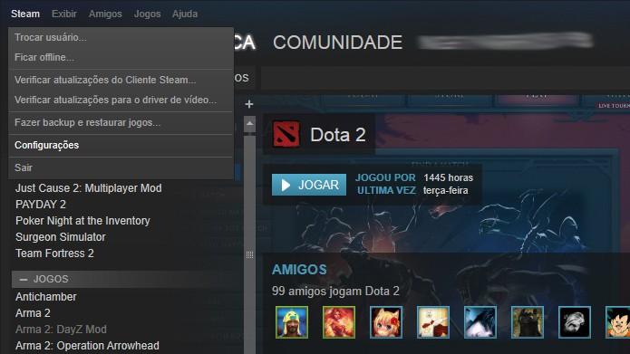 steam-config