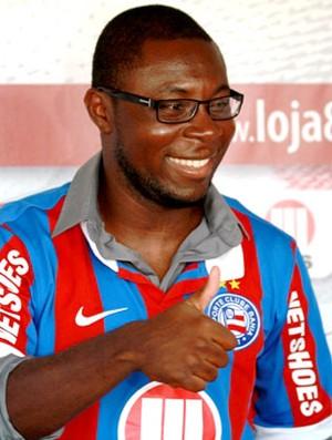 Freddy Adu apresentação Bahia (Foto: Divulgação)