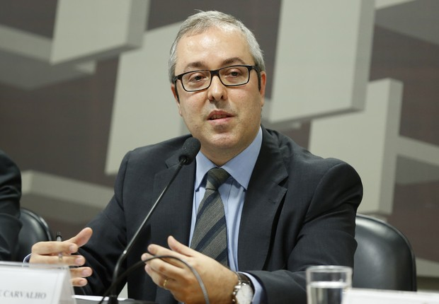 Carlos Viana de Carvalho, diretor de Política Econômica do Banco Central (Foto: Edilson Rodrigues/Agência Senado)
