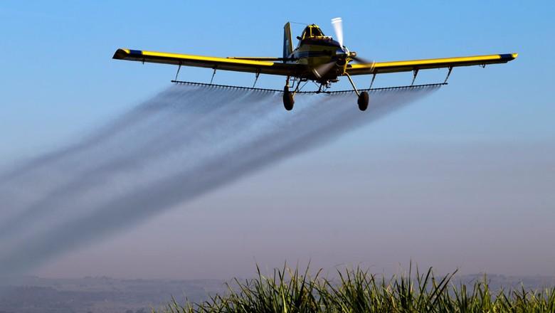 aviação-agrícola (Foto: Sérgio Ranalli/Editora Globo)