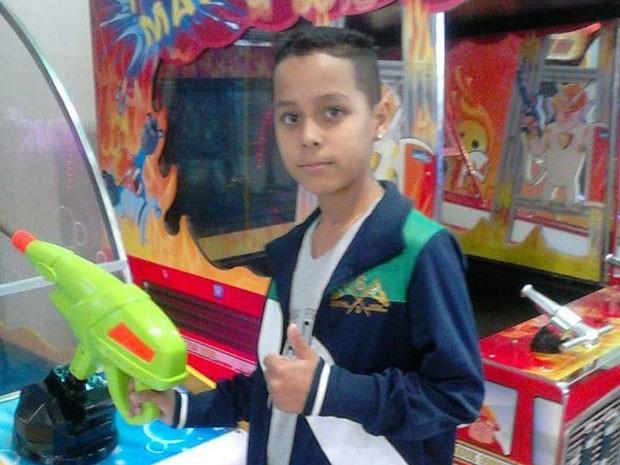 Ryan Pinheiro desapareceu após sair da escola (Foto: Arquivo Pessoal)