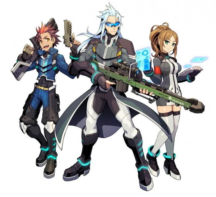 Azure Striker Gunvolt: personagens são carismáticos e muito bem desenhados (Foto: Divulgação)