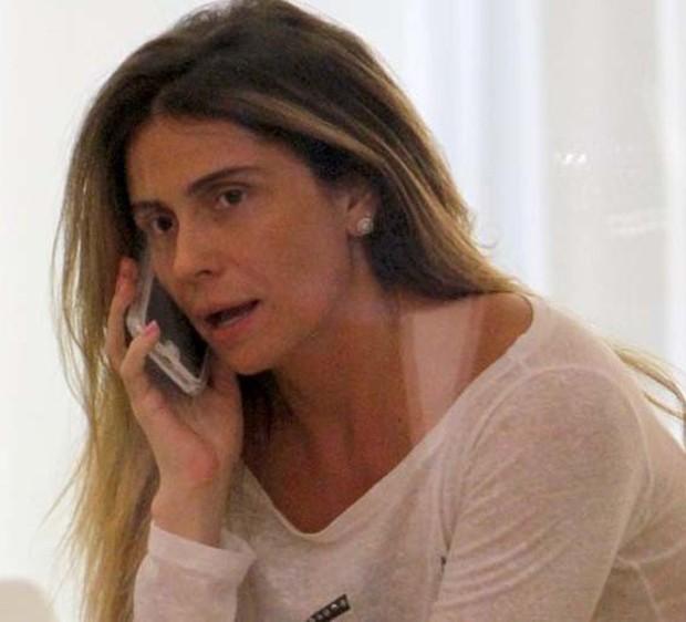 Giovanna Antonelli sem maquiagem (Foto: Marcos Ferreira/ Brazil News)