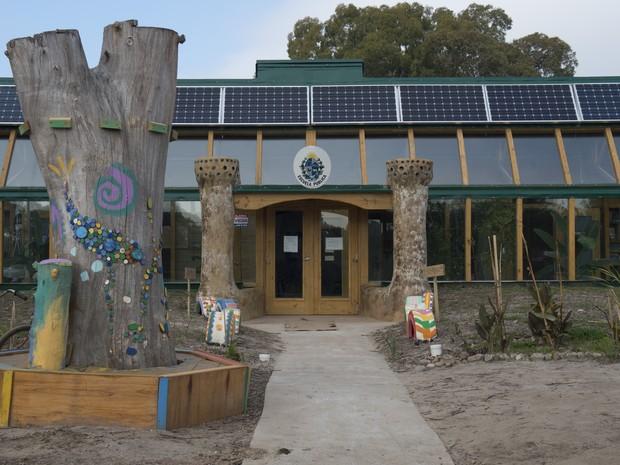 Escola sustentável no Uruguai tem 39 estudantes (Foto: Pablo Porciuncula  / AFP )