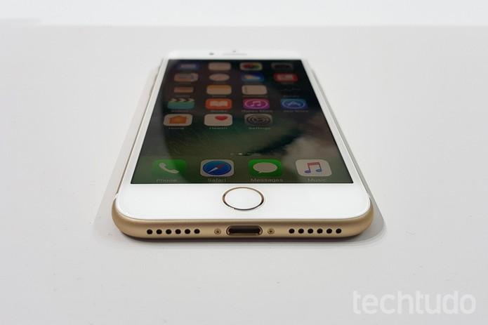[marca] iPhone 7 (Foto: Thássius Veloso/TechTudo)