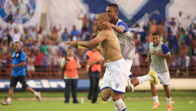 CSA x CEO, no Rei Pelé (Foto: Ailton Cruz/ Gazeta de Alagoas)
