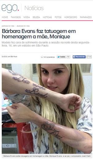 Bem Estar Tatuagem Pode Ser Removida Pouco Tempo Depois De Feita