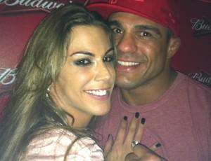 Joana Prado e Vitor Belfort UFC (Foto: Ana Hissa)