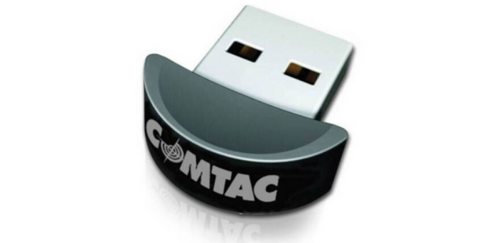 Adaptador USB Mini Bluetooh da marca Comtac (Foto: Reprodução/PortInfo) (Foto: Adaptador USB Mini Bluetooh da marca Comtac (Foto: Reprodução/PortInfo))