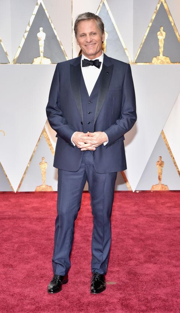 Viggo Mortensen no Oscar 2017 (Foto: Getty Images)