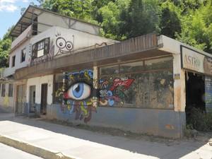 Casa interditada em Friburgo onde moradores de rua foram apreendidos (Foto: Divulgação/Prefeitura de Nova Friburgo)