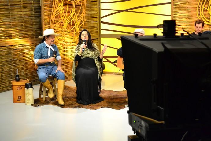 Shana Müller Galpão Crioulo (Foto: Daniel Bittencourt/RBS TV)