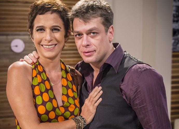 Foram muitas brigas mas também tiveram beijos e abraços (Foto: Alex Carvalho / TV Globo)