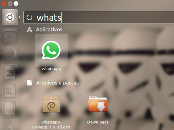Com a instalação concluída, execute o WhatsApp (Foto: Reprodução/Filipe Garrett)