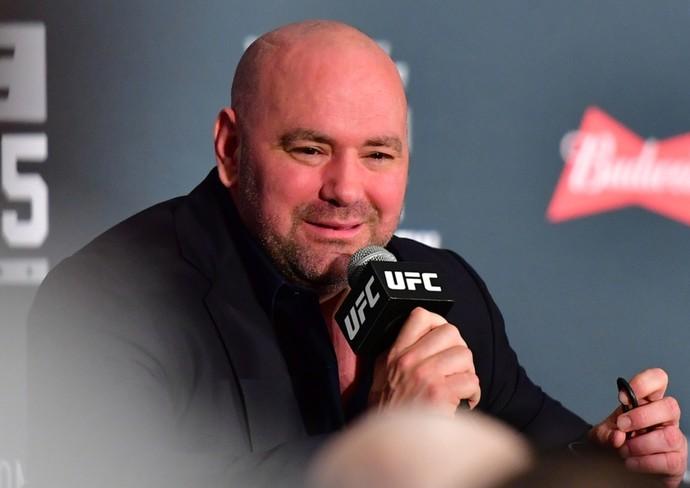 Dana White coletiva UFC 205 (Foto: Jason Silva)