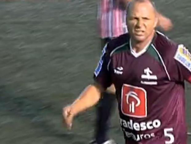 FRAME - Valber Fluminense São Paulo showbol (Foto: Reprodução SporTV)