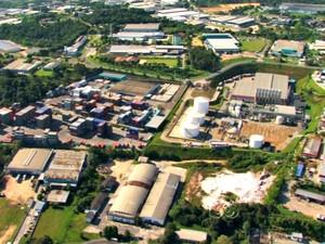 Polo Industrial de Manaus (Foto: Reprodução TV Amazonas)