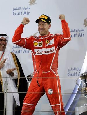 Sebastian Vettel Ferrari GP do Bahrein F1