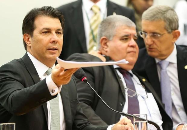Deputados durante sessão da comissão especial da reforma da Previdência Social (Foto: Marcelo Camargo/Agência Brasil)