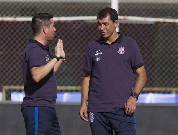Fábio Carille Osmar Loss treino Corinthians