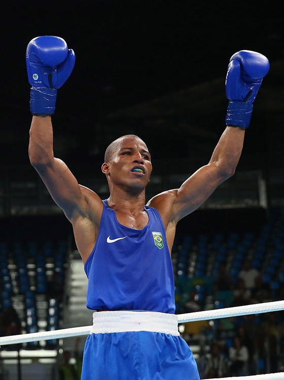O lutador de boxe Robson Conceição (Foto:  Alex Livesey/Getty Images)