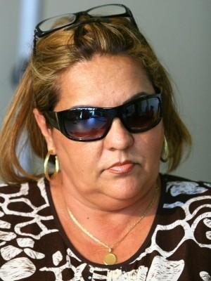 Vilma Martins é presa em Goiânia (Foto: Weimer Carvalho/O Popular - 20/06/08)