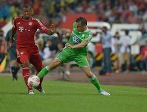 Bayern x Wolfsburg (Foto: Divulgação/Site Oficial Wolfsburg)