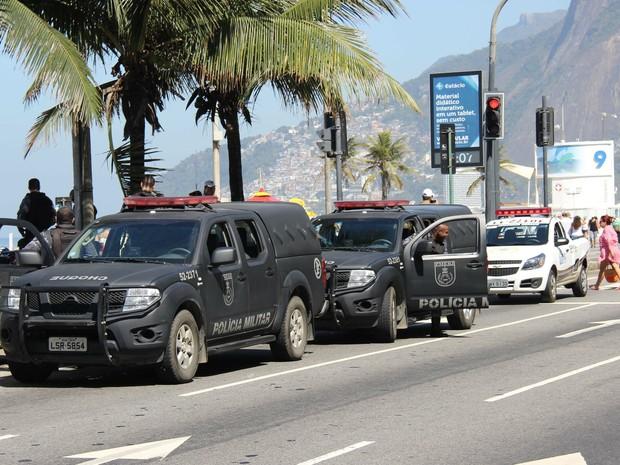Rio Operação Verão (Foto: José Lucena/Futura Press/Estadão Conteúdo)