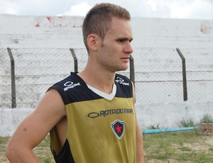 rafael aidar botafogo-pb atacante  (Foto: Lucas Barros / Globoesporte.com/pb)