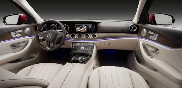 Novo Mercedes Classe E All-Terrain 2017 (interior) (Foto: Divulgação)