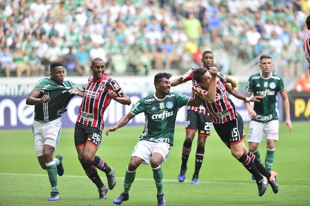 CBF faz mudança no horário do clássico entre São Paulo e Palmeiras