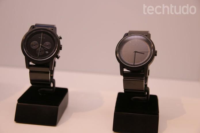 Gadget está disponível em dois modelos: Three Hands e Chronograph (Foto: Fabrício Vitorino/TechTudo)