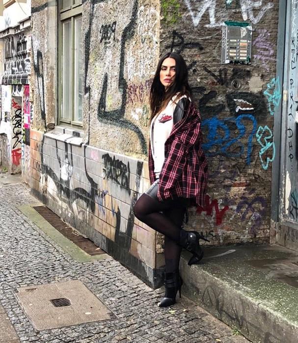 Cleo Pires em Berlim (Foto: Divulgação)