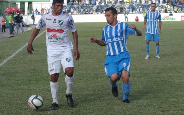 CSA e Murici empataram por 1 a 1 no José Gomes da Costa (Foto: Leonardo Freire/GLOBOESPORTE.COM)