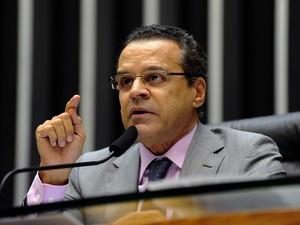 O presidente da Câmara, Henrique Alves (PMDB-RN), no plenário da Casa (Foto: Gustavo Lima/Ag. Câmara)