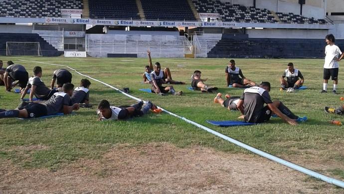 Central se reapresentou nesta segunda (Foto: Adrinaldo Barbosa / Central Sport Club)