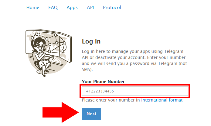 Informe seu número de celular (Foto: Reprodução/Paulo Alves)