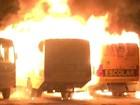 Com ônibus incendiados e motim, RN registra 6ª noite seguida de ataques