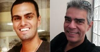 Rian Brito e o pai, Nizo Neto (Foto: Reprodução/Facebook)