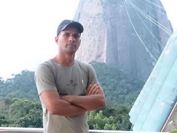 PM está no Rio de Janeiro reforçando a segurança durante a Olímpiada  (Foto: Arquivo da família)