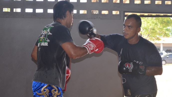Militar amapaense representará o estado em evento de MMA, no Paraná  (Foto: Rafael Moreira/GE-AP)