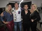 Valesca Popozuda, Naldo e Antônia Fontenelle vão ao aniversário de Jonathan Costa