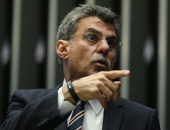 Senador Romero Jucá (Foto: André Coelho / Agência O Globo)